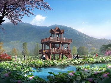 汉阴双乳荷塘景区规划