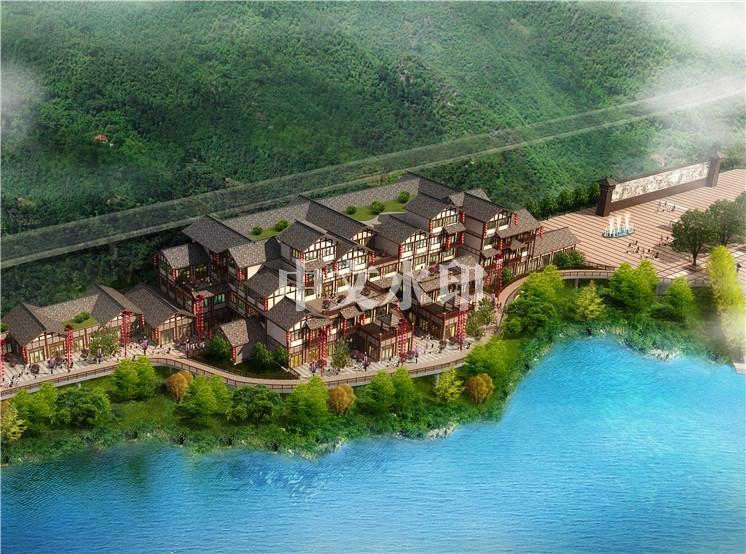 汉江画廊度假村规划