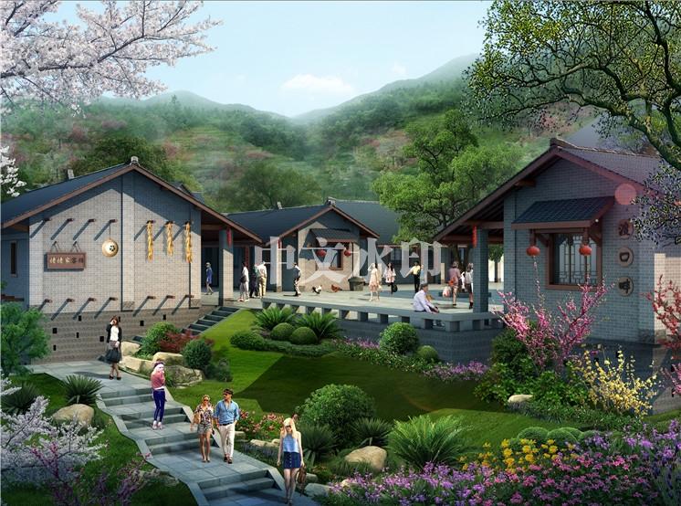 民宿休旅生态园设计