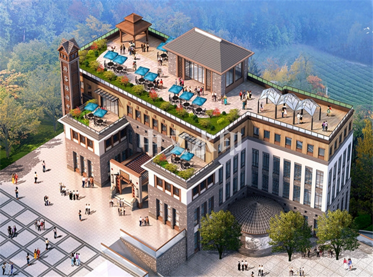 长安生态度假酒店设计