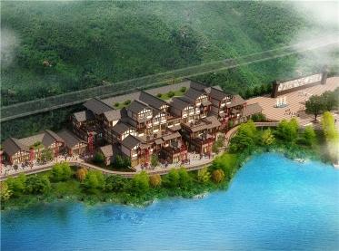 湖北汉江画廊度假村规划