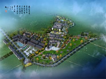 上海长安女娲茶镇规划设计