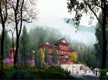 四川丹景山度假酒店设计规划