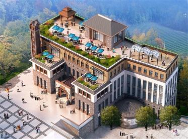 重庆长安生态度假酒店设计
