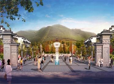四川中心广场游规划